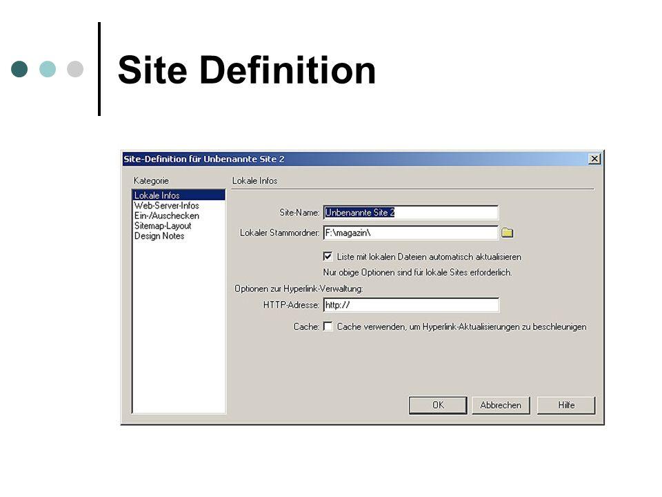 Site Definition
