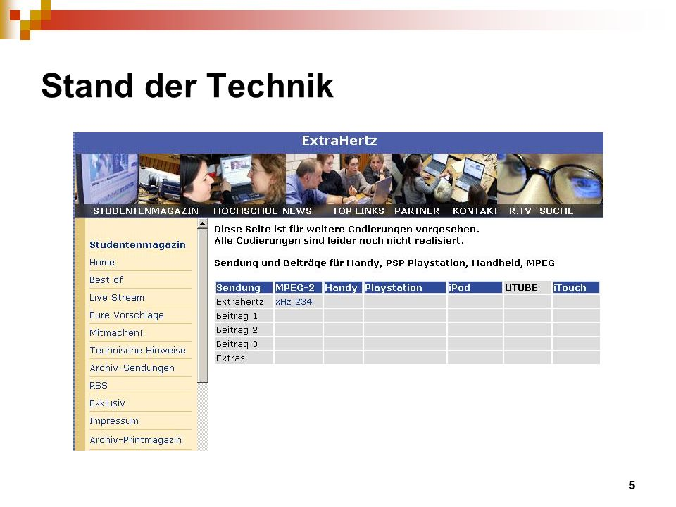 6 Aufgabenstellung Formate.htm mit der Verlinkung auf Datei automatisch generieren