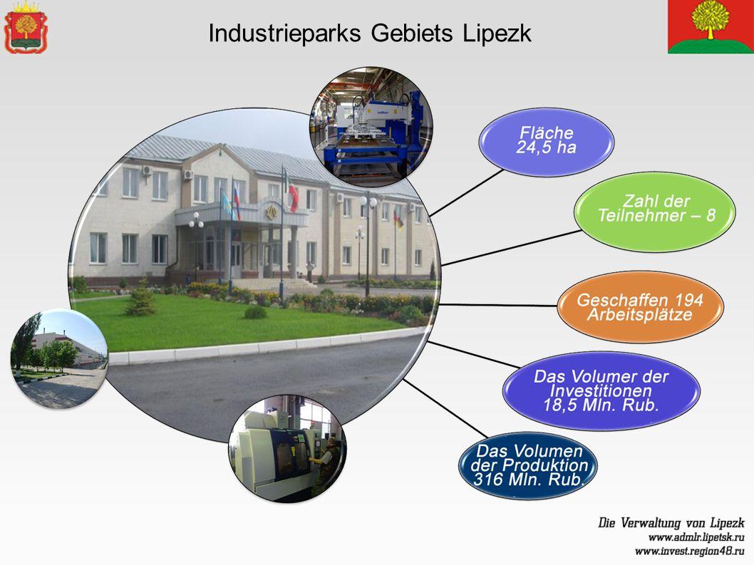 Industrieparks Gebiets Lipezk
