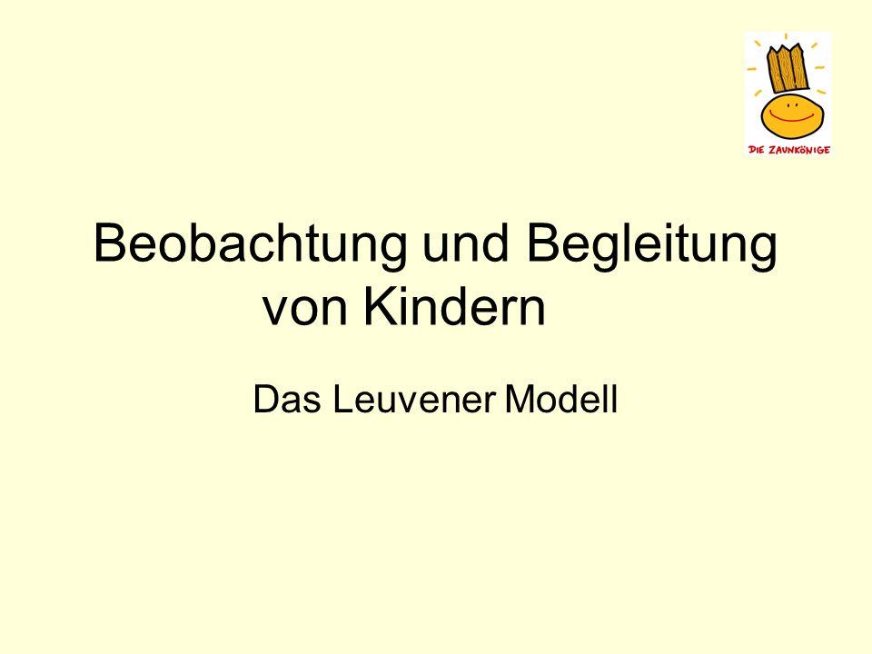 Beobachtung und Begleitung von Kindern Das Leuvener Modell
