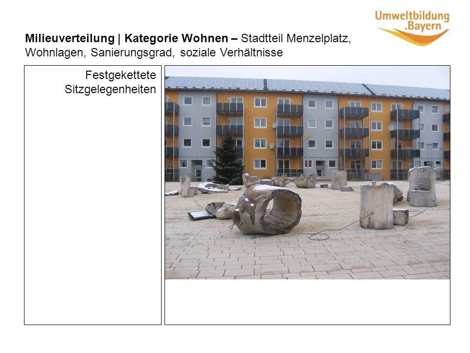 Milieuverteilung | Kategorie Einkaufen – zentrale Orte, PKW- Kennzeichen, Spektrum, Leerstand Einkaufsmöglichkeiten