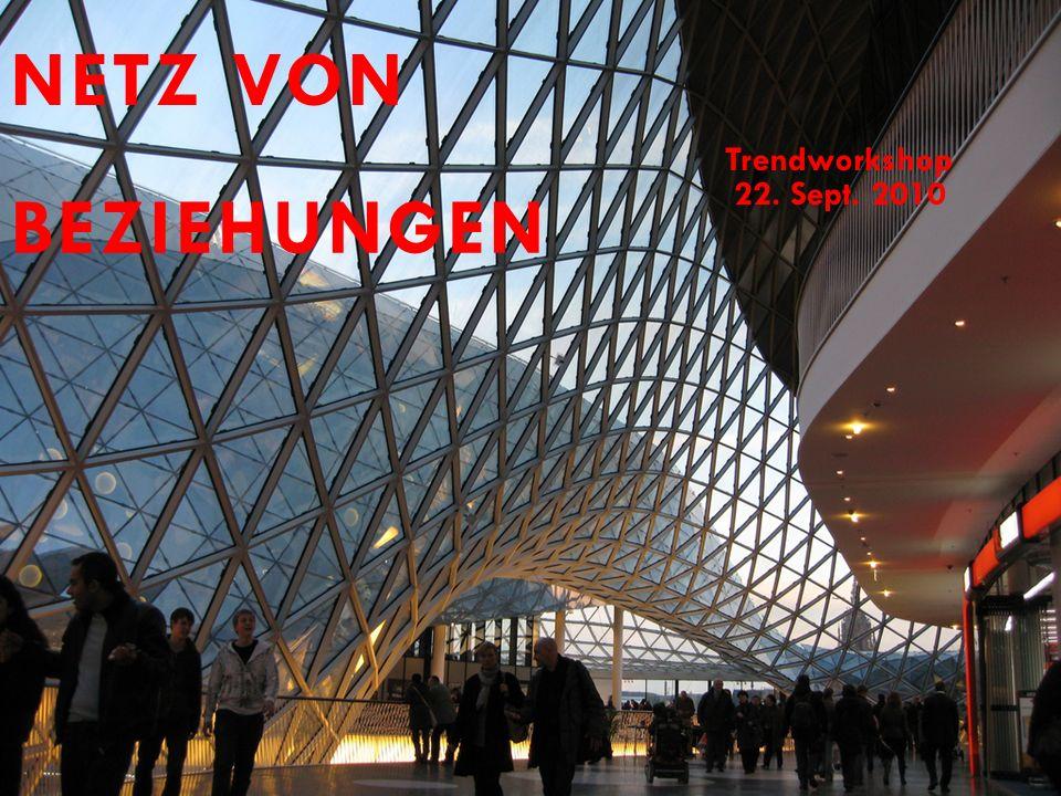 NETZ VON Trendworkshop 22. Sept. 2010 BEZIEHUNGEN