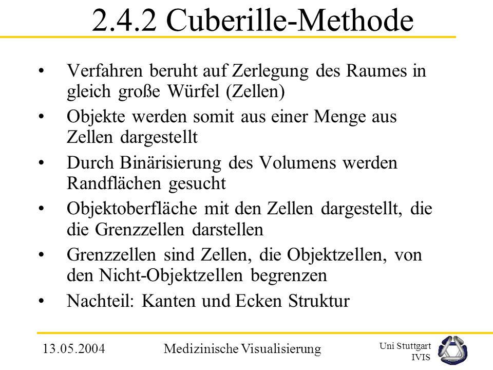 Uni Stuttgart IVIS 13.05.2004Medizinische Visualisierung Beispiel