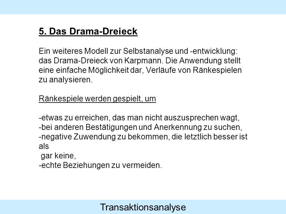 Transaktionsanalyse 5.