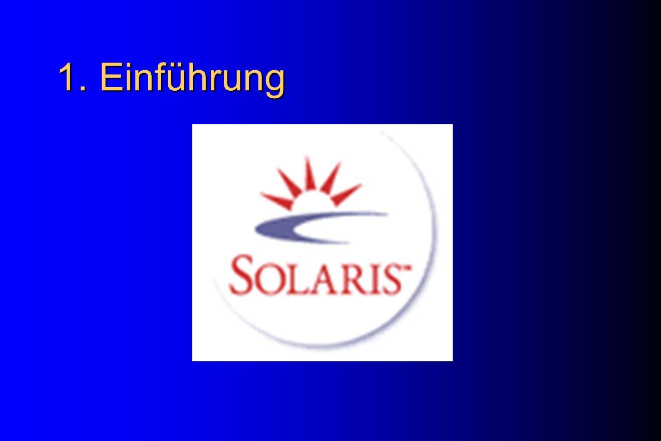 Notboot von Solaris boot cdrom (im Monitor-Modus) Warten bis OpenWindows gestartet ist (Systeminstallations-Fenster erscheint) Mausklick auf Workspace Command Tool öffnen => Kommandoausführung (ufsrestore, ….)
