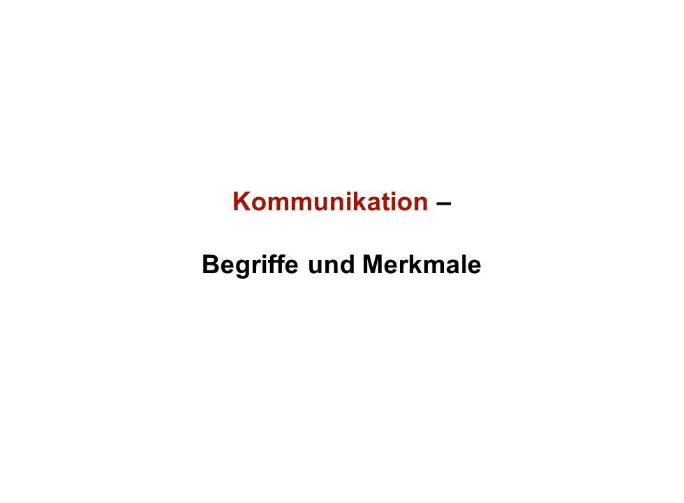 Institut für Grundlagen der Planung– Universität Stuttgart Institute for the Foundations of Planning – University of Stuttgart Kommunikation – Begriff