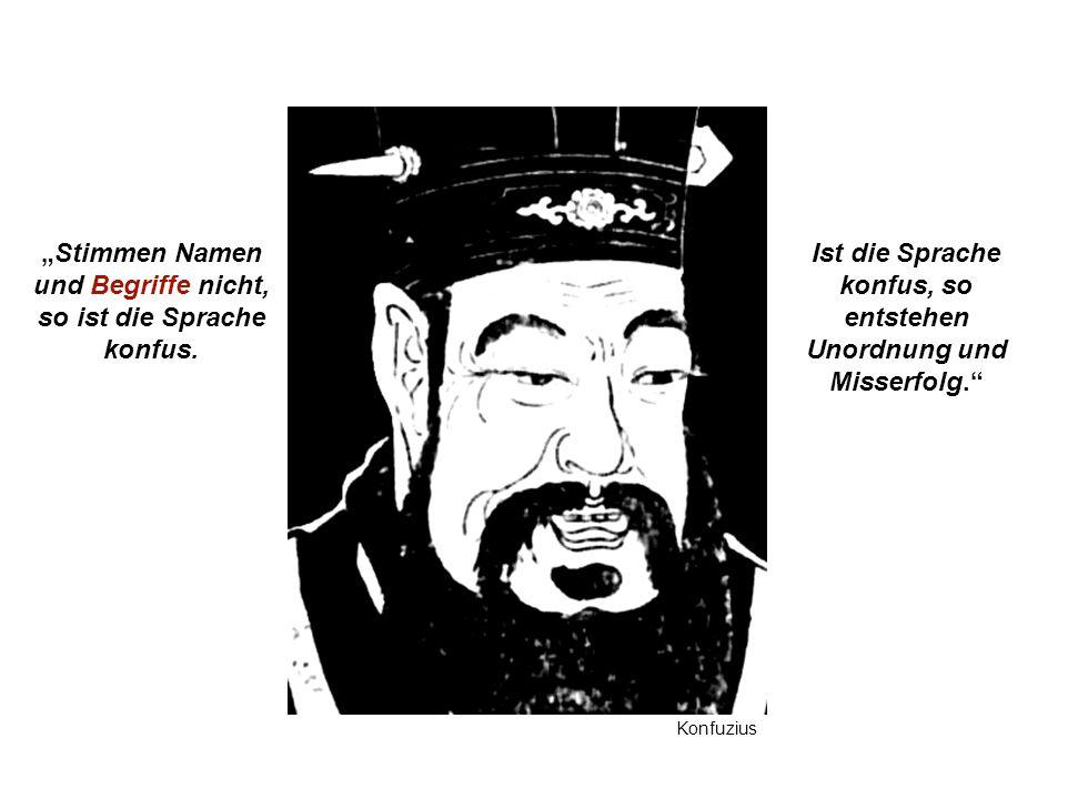 Institut für Grundlagen der Planung– Universität Stuttgart Institute for the Foundations of Planning – University of Stuttgart Stimmen Namen und Begriffe nicht, so ist die Sprache konfus.