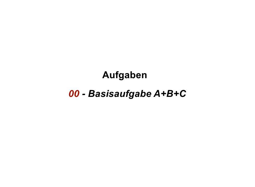 Institut für Grundlagen der Planung– Universität Stuttgart Institute for the Foundations of Planning – University of Stuttgart Aufgaben 00 - Basisaufgabe A+B+C