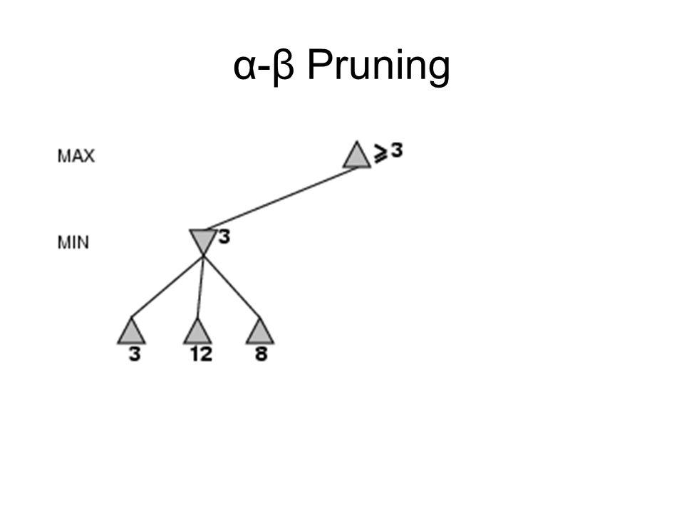 α-β Pruning