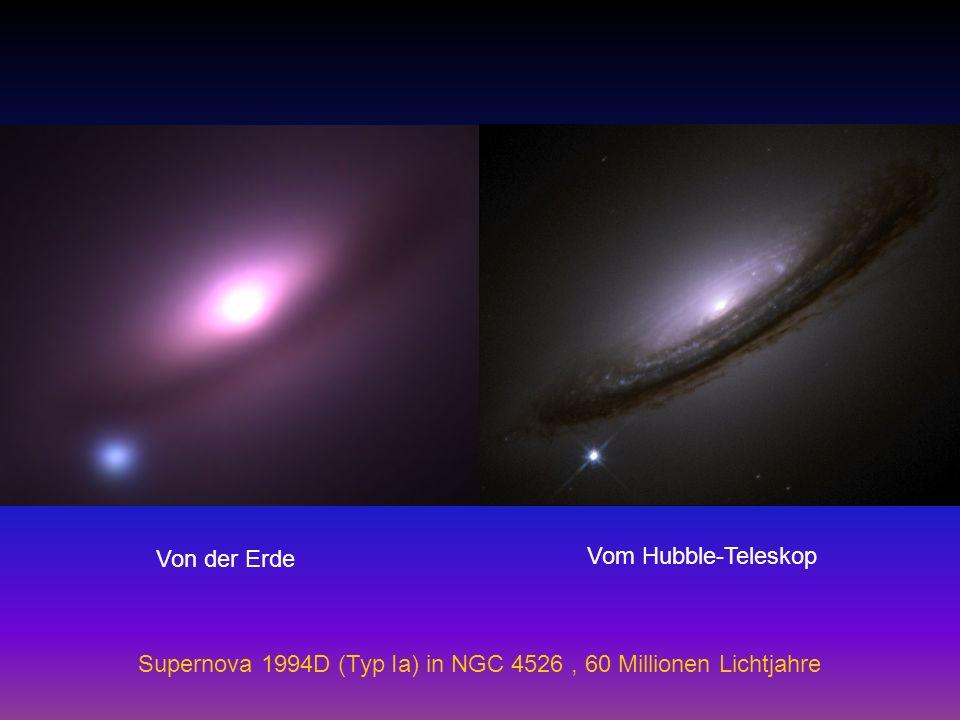 Supernova 1994D (Typ Ia) in NGC 4526, 60 Millionen Lichtjahre Von der Erde Vom Hubble-Teleskop