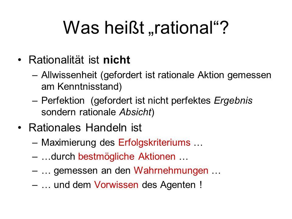 Was heißt rational.