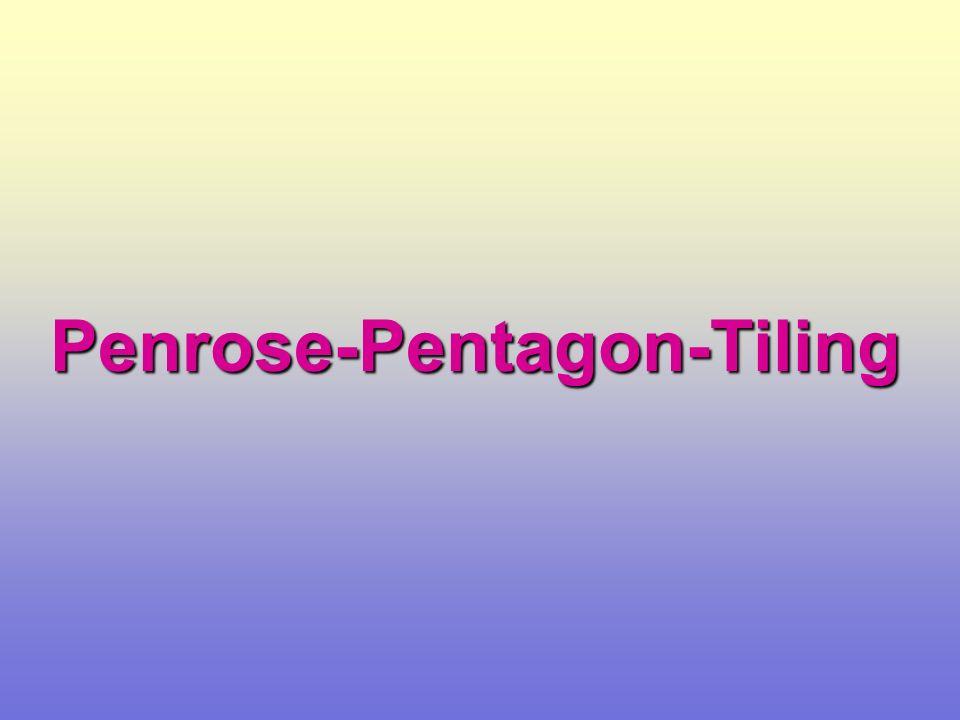 Penrose-Pentagon-Tiling Stern Schiff Rhombus Pentagon Cluster