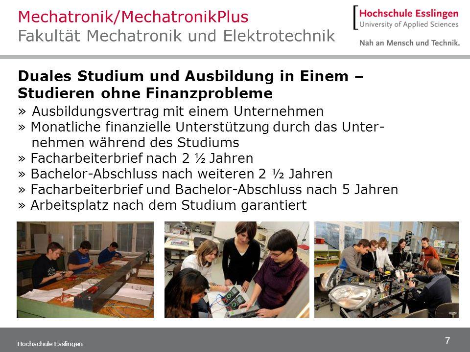 7 Hochschule Esslingen Duales Studium und Ausbildung in Einem – Studieren ohne Finanzprobleme » Ausbildungsvertrag mit einem Unternehmen » Monatliche