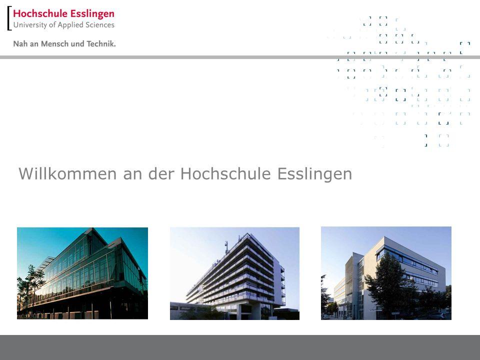 Willkommen an der Hochschule Esslingen