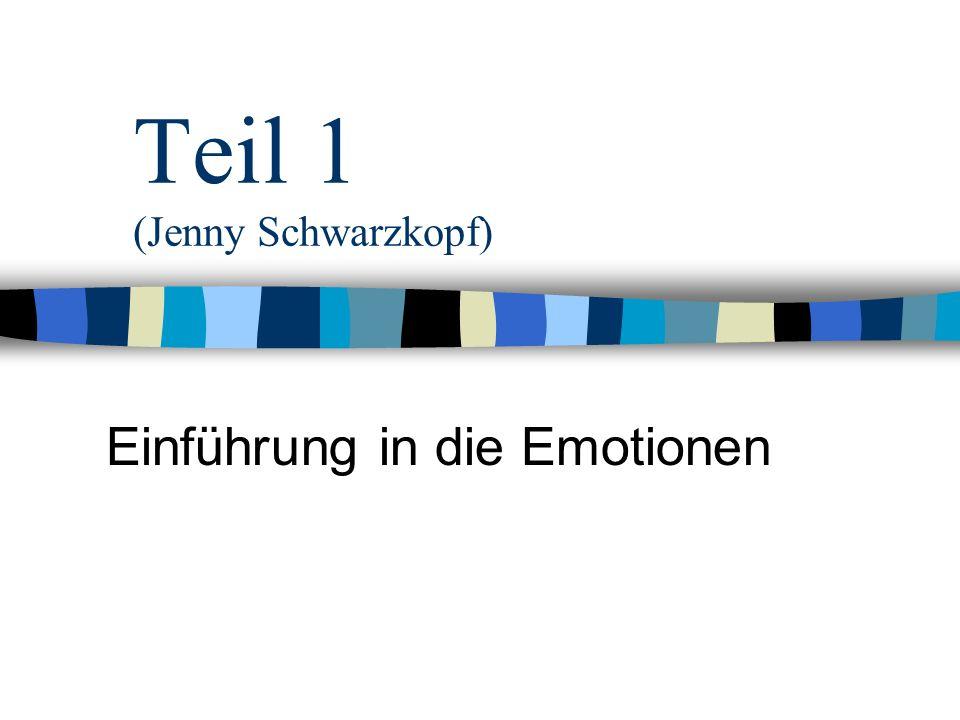 Übersicht 1. Gegenstandsbeschreibung 2. Emotionstheorien