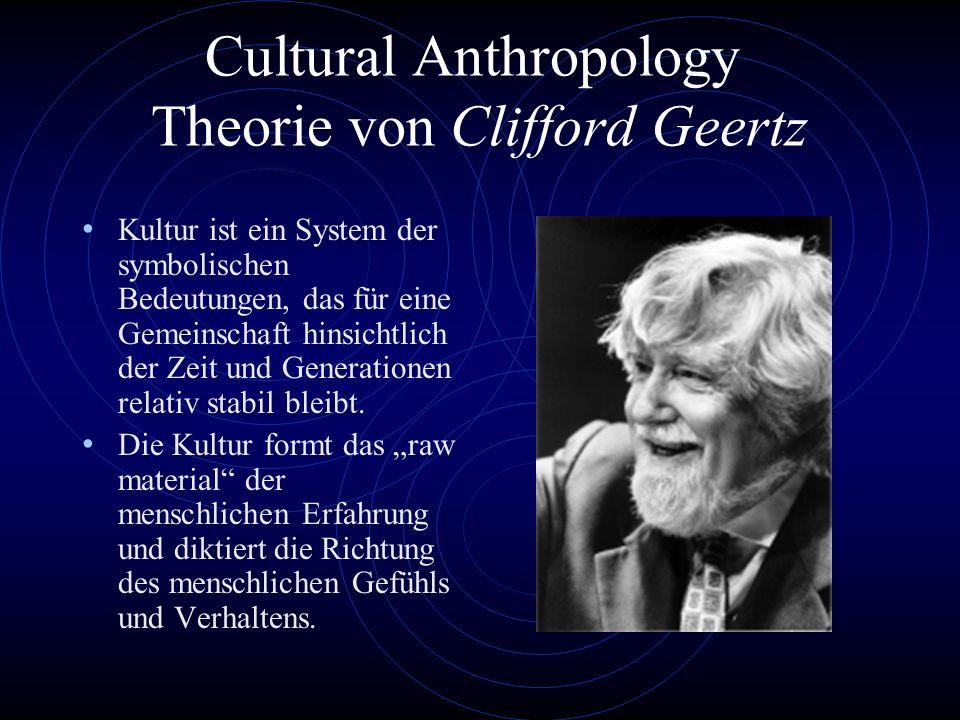 Social Anthropology Theorie von Durkheim Zweiphasische Wahrnehmung 1. Sense data von Individum, kurzlebig und bedeutungslos. 2. Organisation der Daten