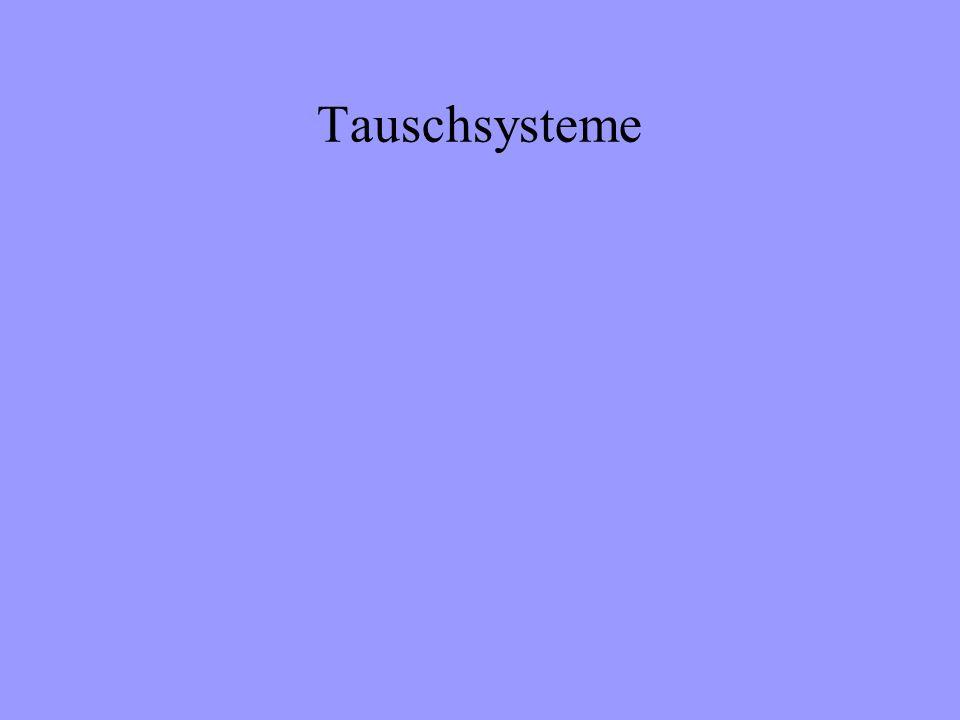 Tauschsysteme