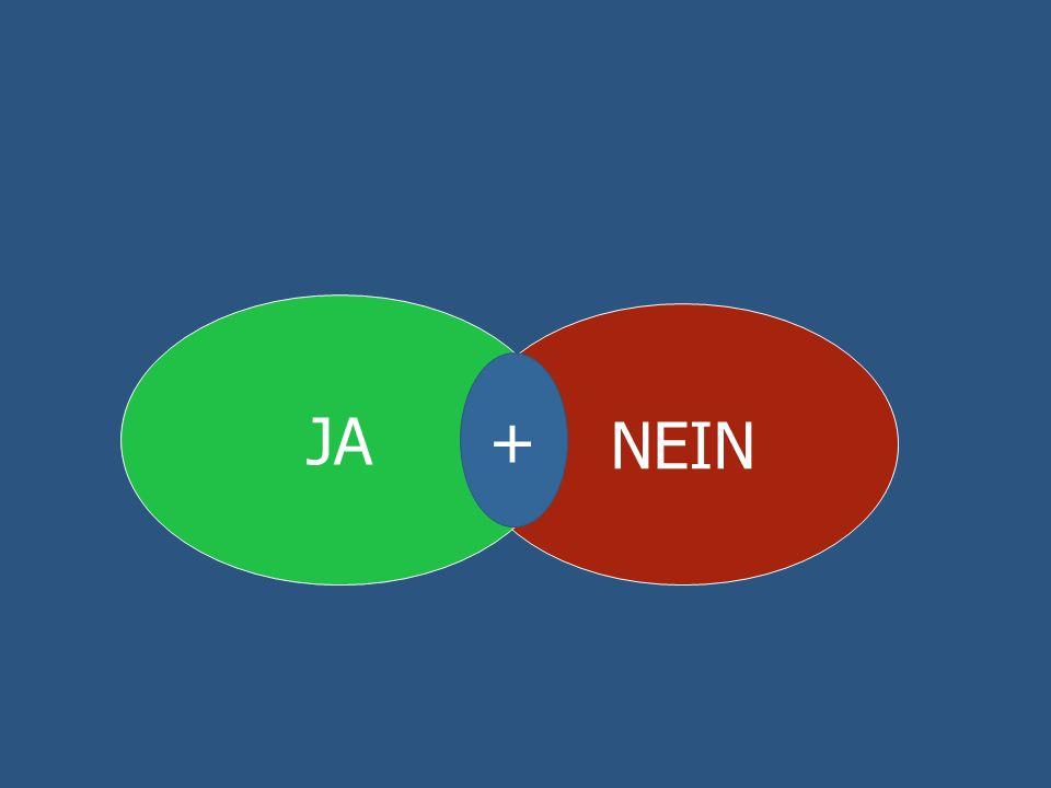 NEIN JA +