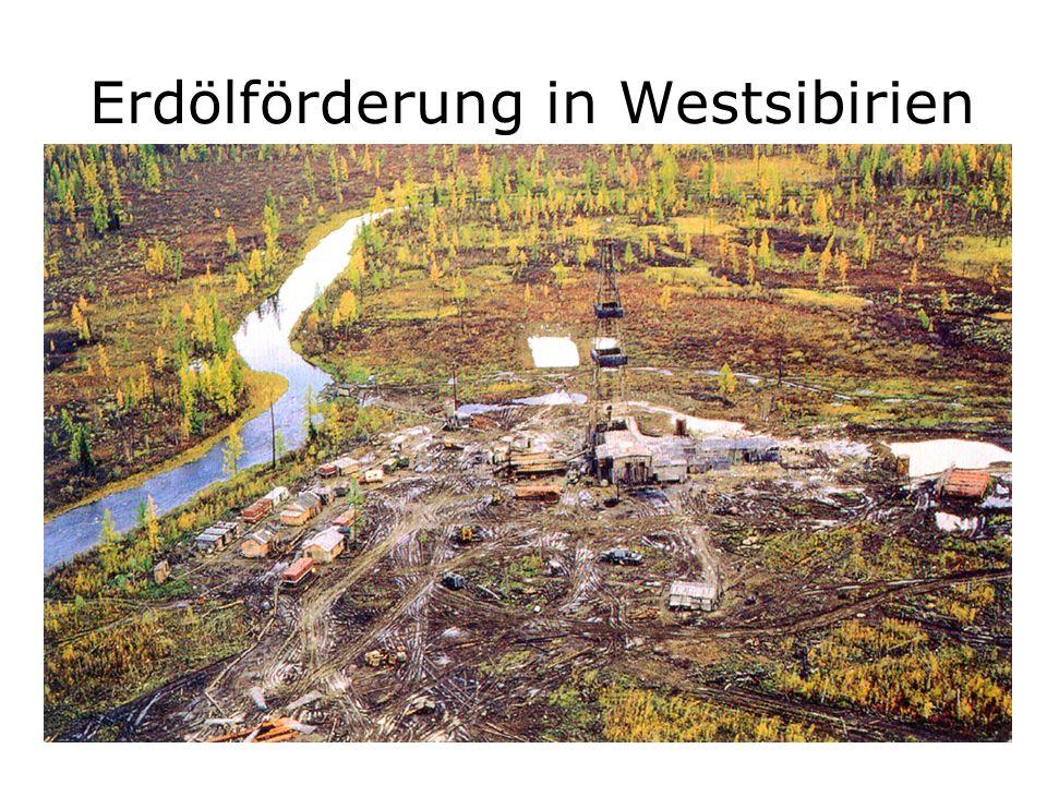 Erdölförderung in Westsibirien