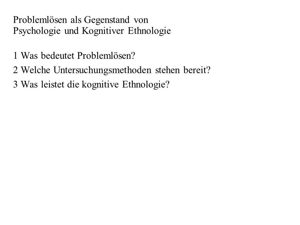 - 3 - 1 Was bedeutet Problemlösen (PL).