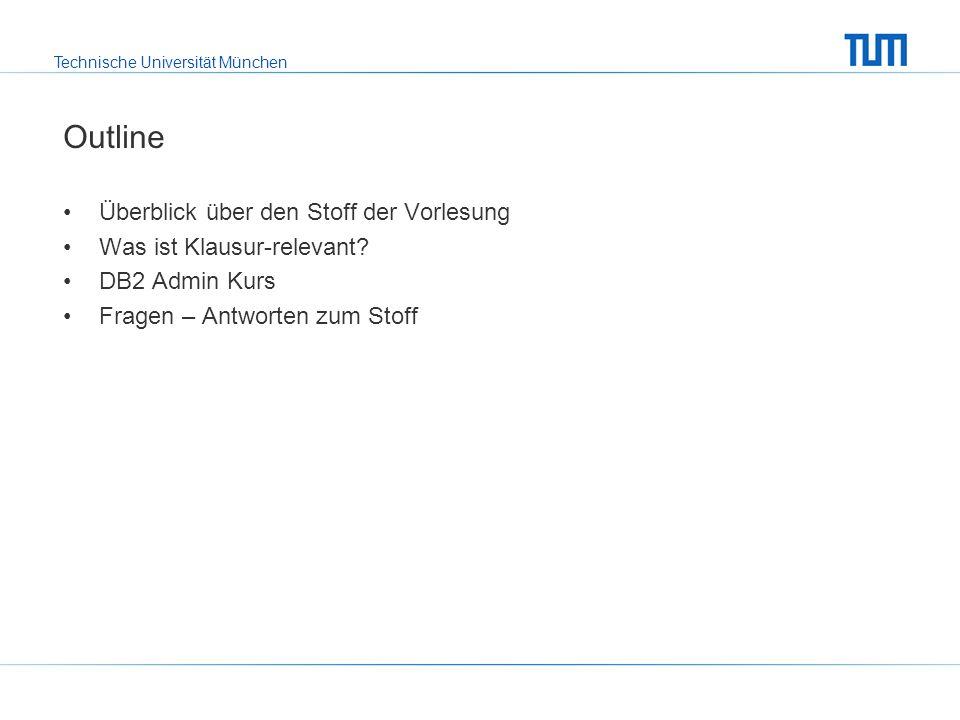 Technische Universität München Kapitel 1: Einleitung Motivation für DBMS (Redundanzen, Inkonsistenzen, Mehrbenutzerbetrieb, …) Abstraktionsebenen eines DBMS, physische & logische Datenunabhängigkeit