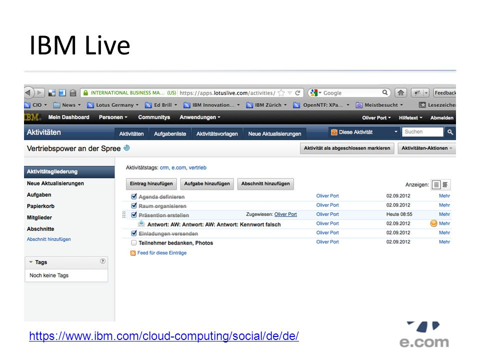 IBM Live https://www.ibm.com/cloud-computing/social/de/de/