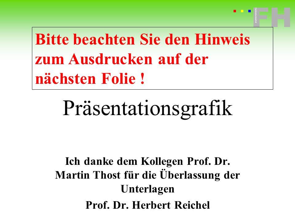 Fachhochschule Hof FH Fachhochschule Hof Präsentationsgrafik Ich danke dem Kollegen Prof. Dr. Martin Thost für die Überlassung der Unterlagen Prof. Dr