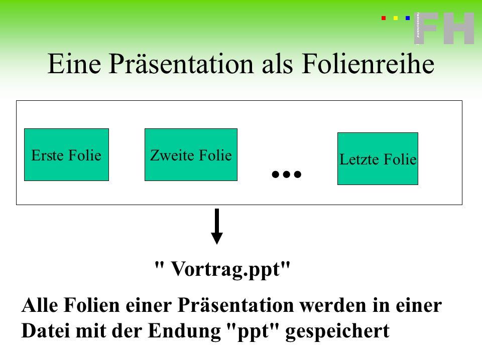 Fachhochschule Hof FH Fachhochschule Hof Was liefert PowerPoint für Ihre Präsentation.