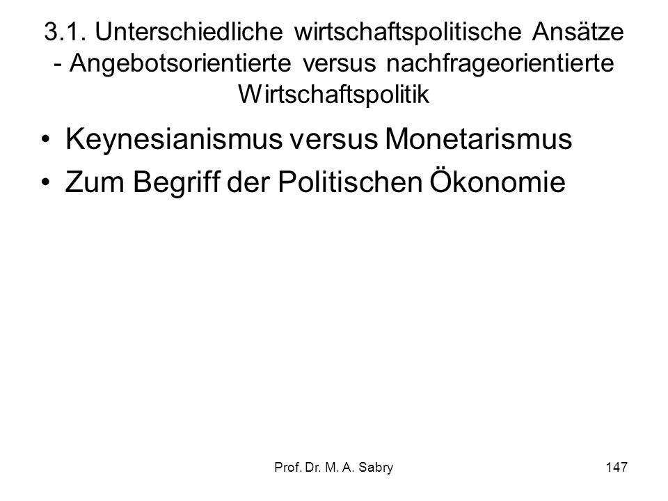 Prof. Dr. M. A. Sabry146 Vom magischen Viereck zum Siebeneck! Umweltproblematik als Zielsetzung
