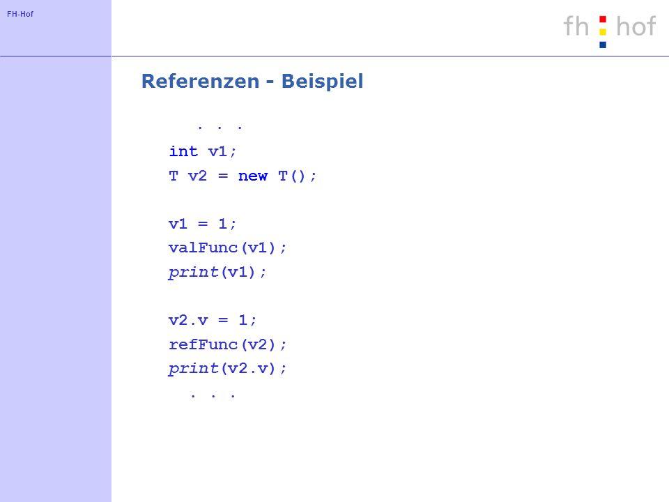 FH-Hof Referenzen - Beispiel...