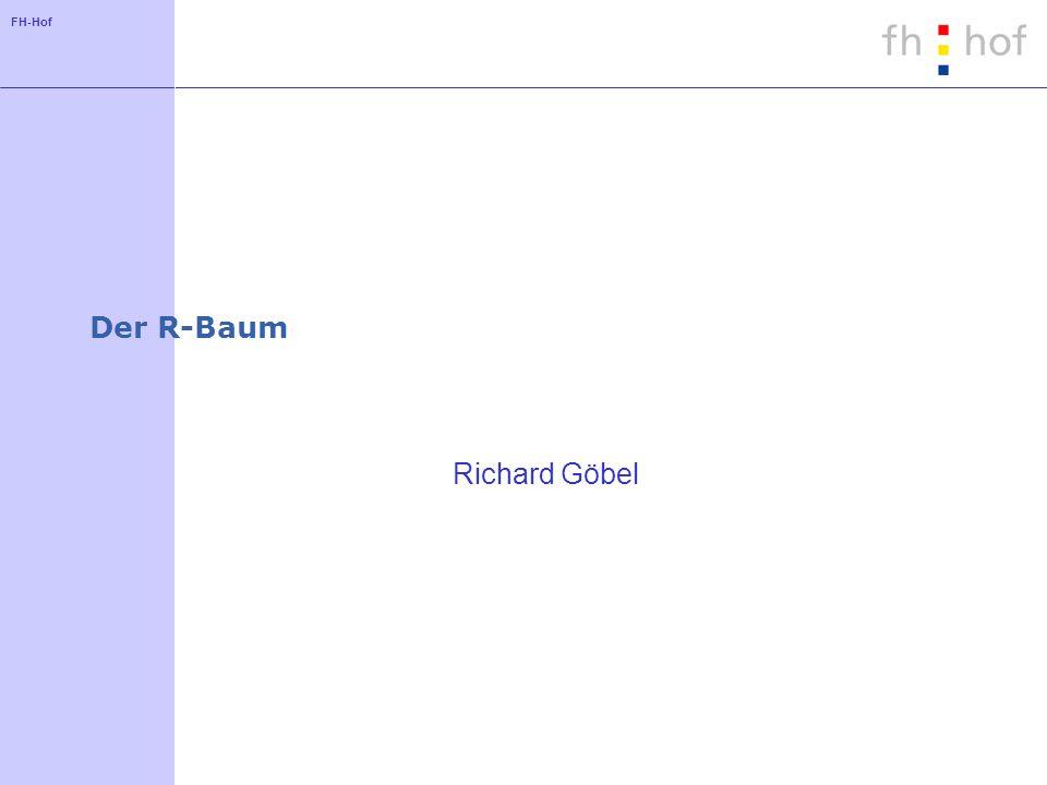 FH-Hof Verallgemeinerte Suchanfragen Form der Suchanfrage a l1 column 1 a u1 AND a l2 column 2 a u2...