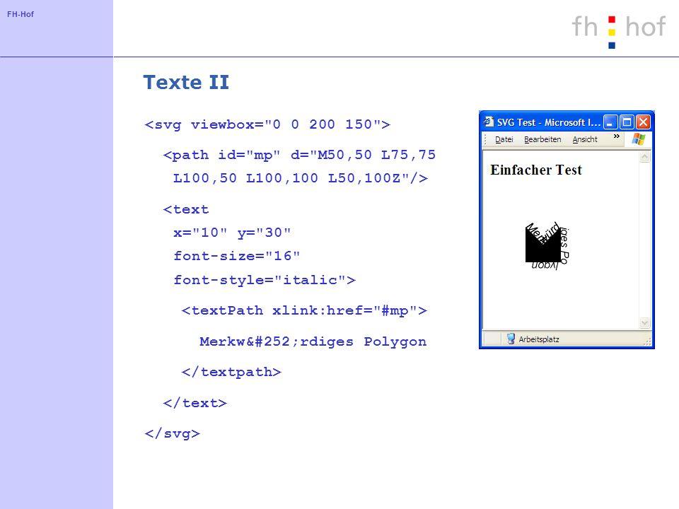 FH-Hof Texte II Merkwürdiges Polygon