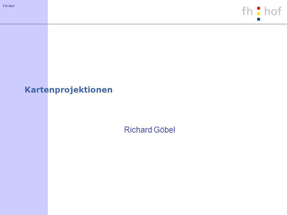 FH-Hof Kartenprojektionen Richard Göbel