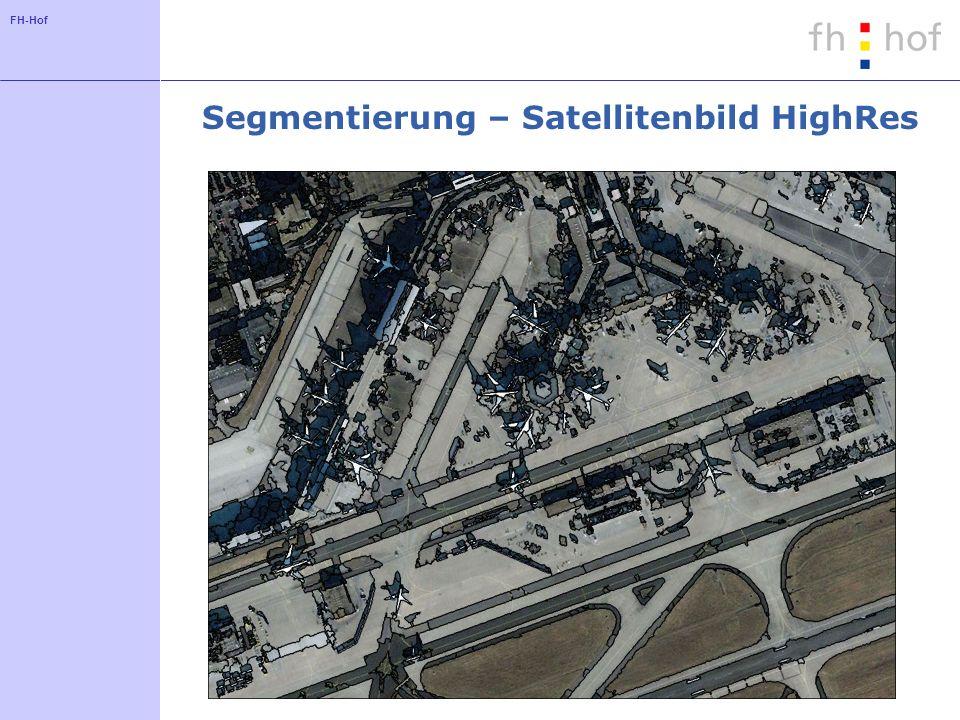 FH-Hof Segmentierung – Satellitenbild HighRes