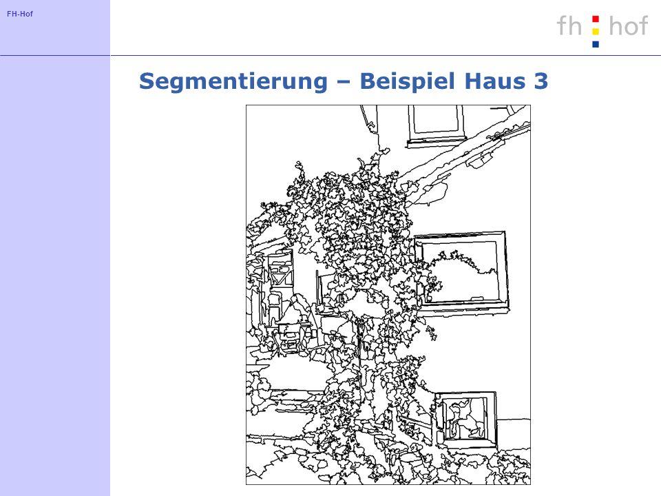 FH-Hof Segmentierung – Beispiel Haus 3