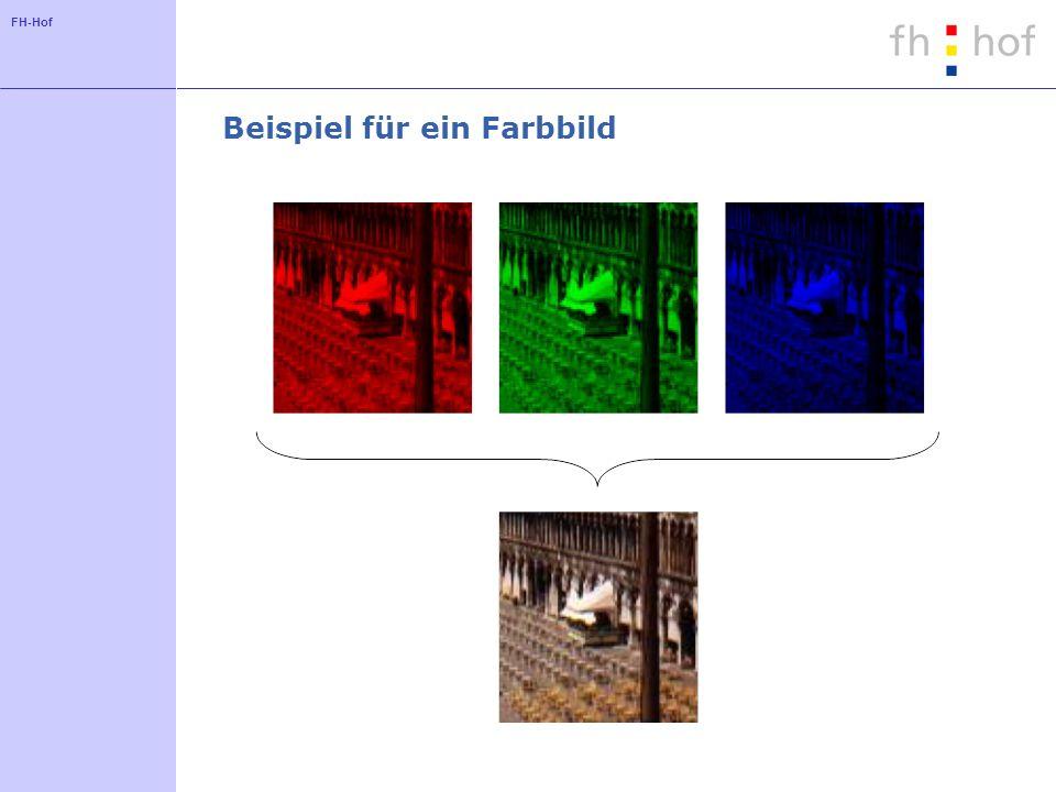 FH-Hof Beispiel für ein Farbbild