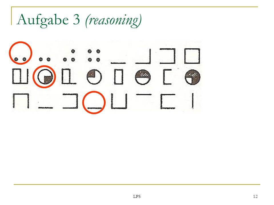 LPS 12 Aufgabe 3 (reasoning)