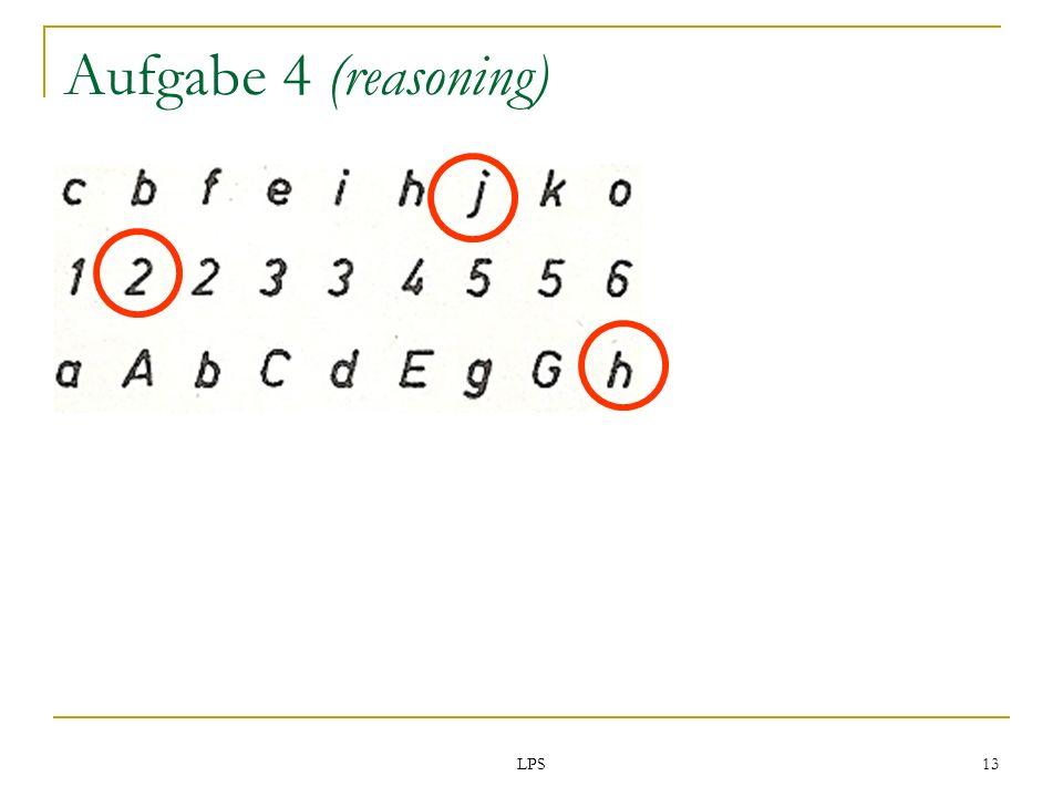 LPS 13 Aufgabe 4 (reasoning)