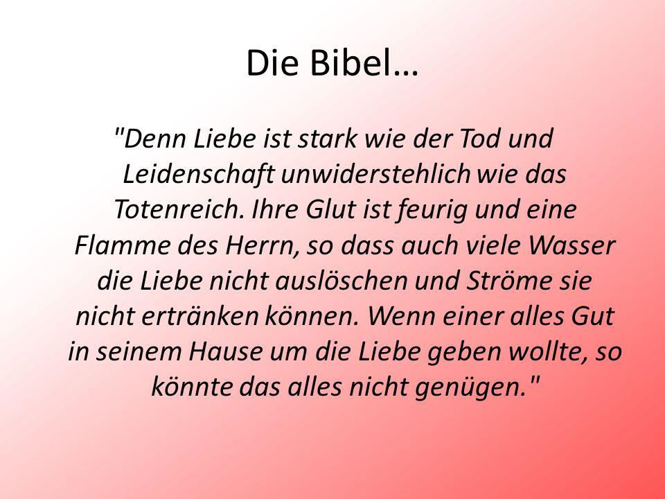 Die Bibel…