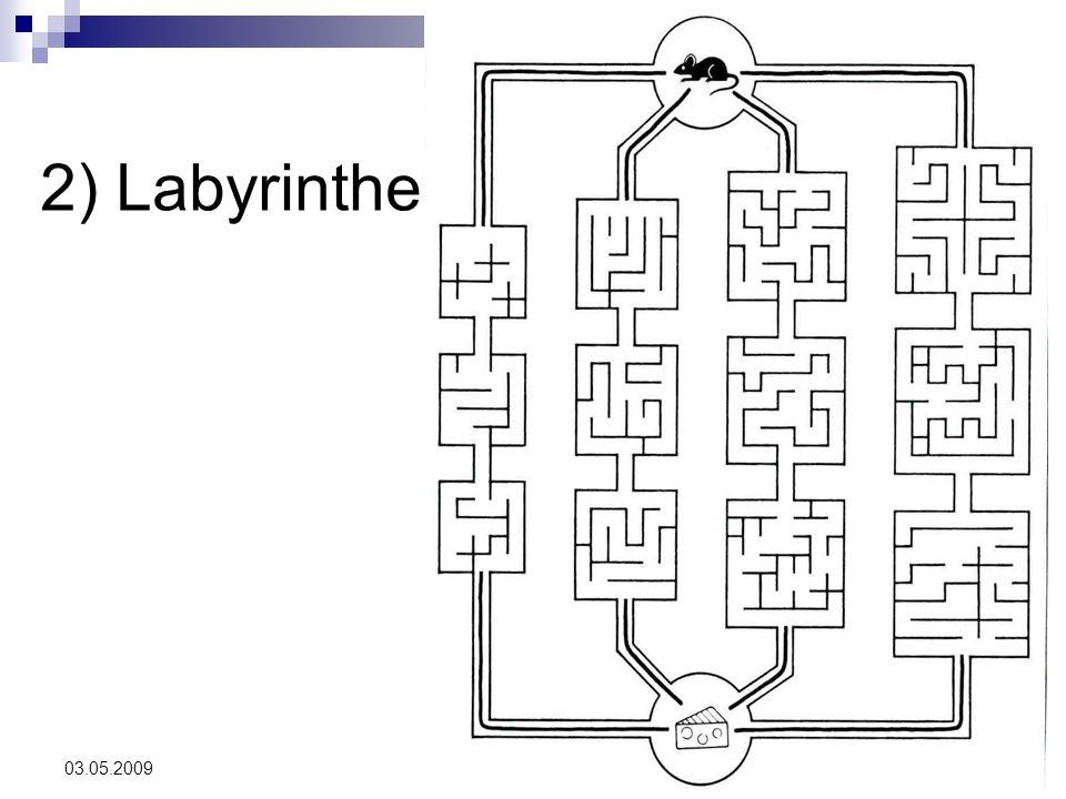 29 03.05.2009 2) Labyrinthe