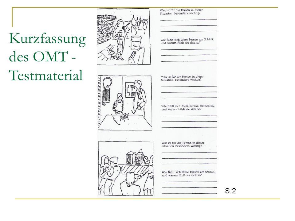 Kurzfassung des OMT - Testmaterial S.2