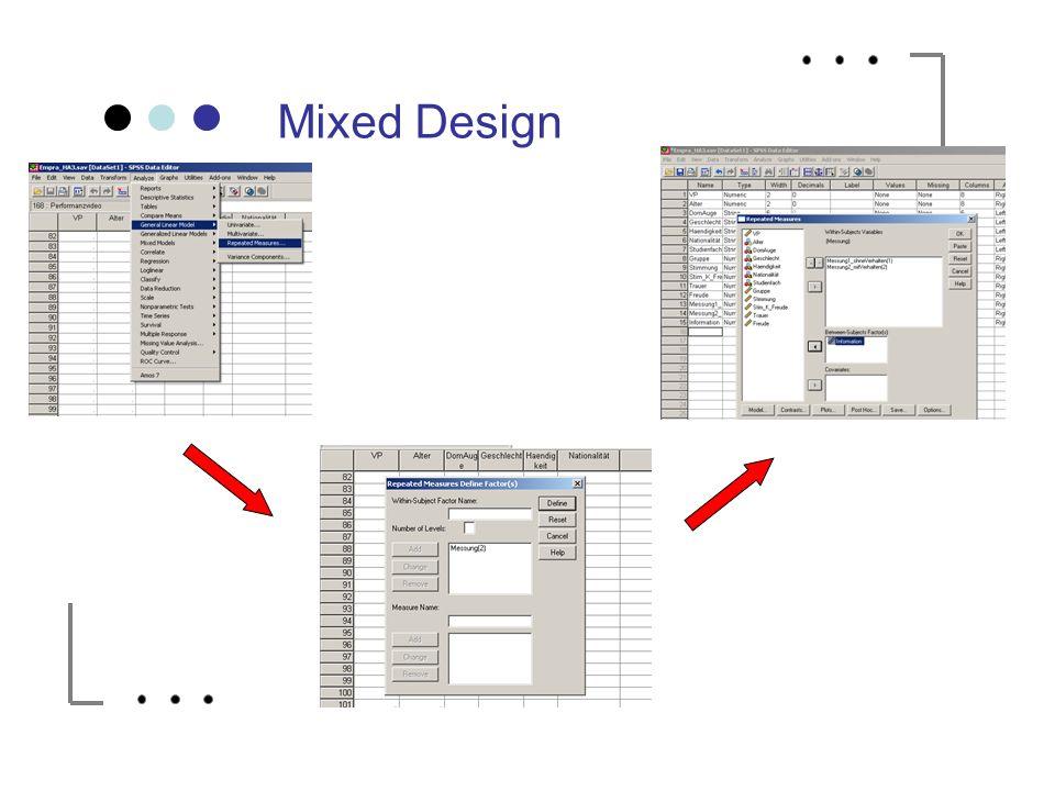 Mixed Design