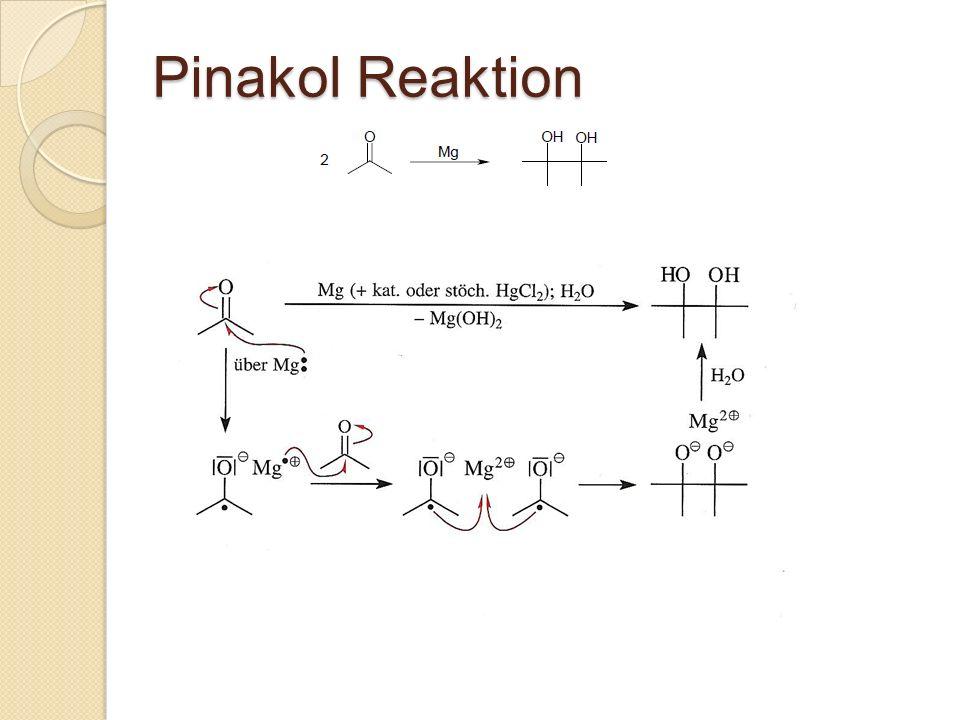 Pinakol Reaktion