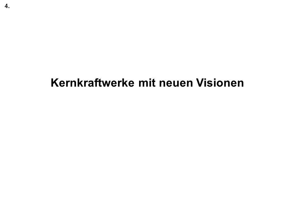 Kernkraftwerke mit neuen Visionen 4.