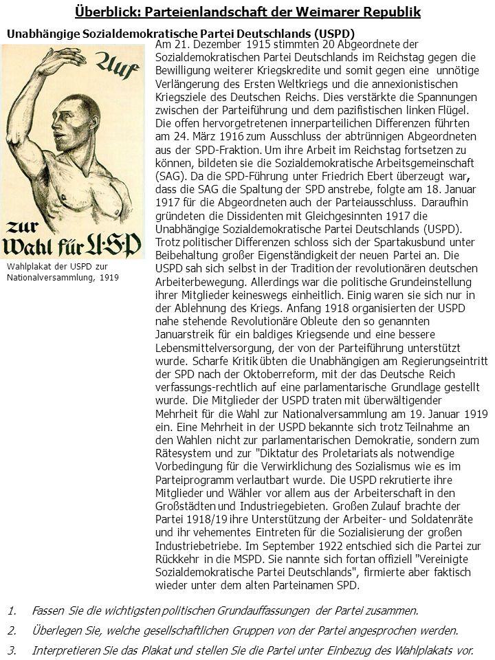 Der Prozess der Spaltung der Sozialdemokratie in zwei Parteien, der Sozialdemokratischen Partei Deutschlands, Mehrheitspartei (MSPD) und der Unabhängigen Sozialdemokratischen Partei Deutschlands (USPD), vollzog sich während des Ersten Weltkrieges.
