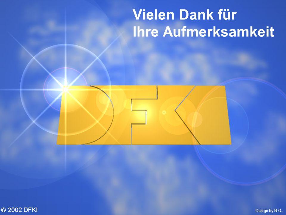© W. Wahlster, DFKI © 2002 DFKI Design by R.O. Vielen Dank für Ihre Aufmerksamkeit