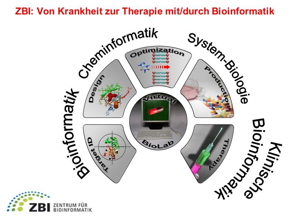 ZBI: Von Krankheit zur Therapie mit/durch Bioinformatik