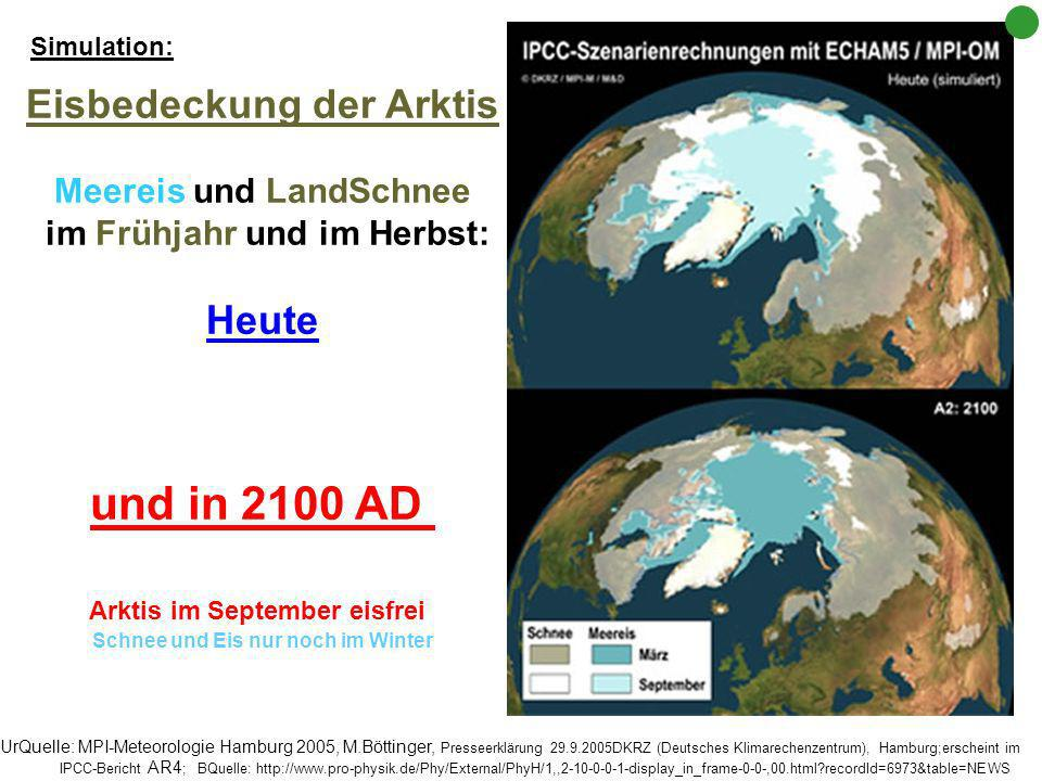 Eindeutiger Trend: Seit Beginn der Satellitenbeobachtung hat die Ausdehnung des Meereises drastisch abgenommen. ©National Snow and Ice Data Center BQu