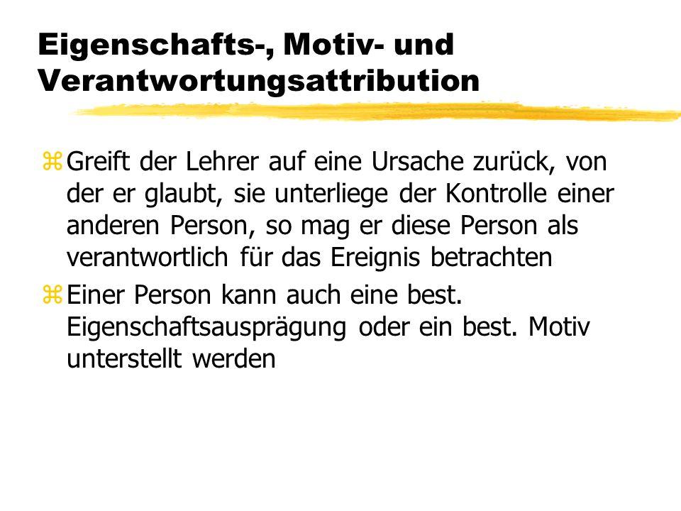 1.1 Der Begriff der Attribution zBegründer Der Attributionstheorie: Fritz Heider (1958) zAusgangspunkt: Auseinandersetzung mit sozialer Wahrnehmung Be