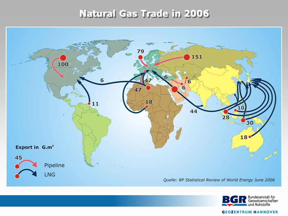 Natural Gas Trade in 2006